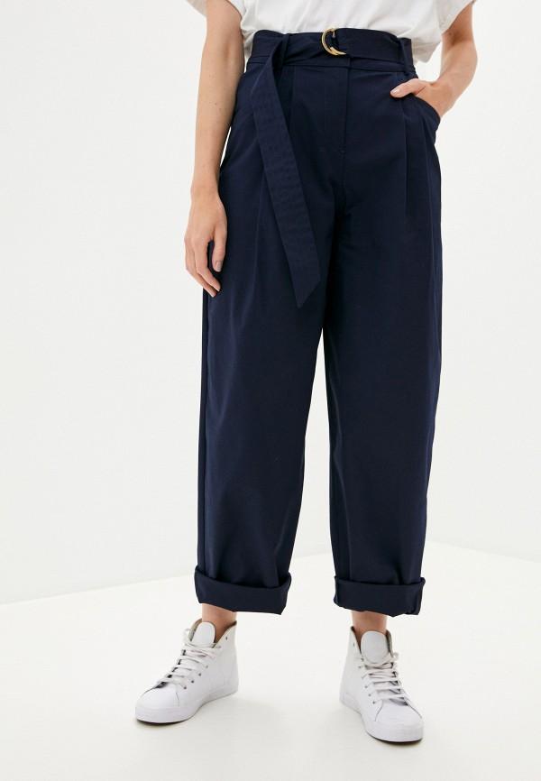 женские повседневные брюки united colors of benetton, синие