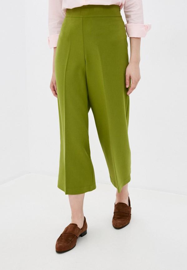женские бриджи united colors of benetton, зеленые
