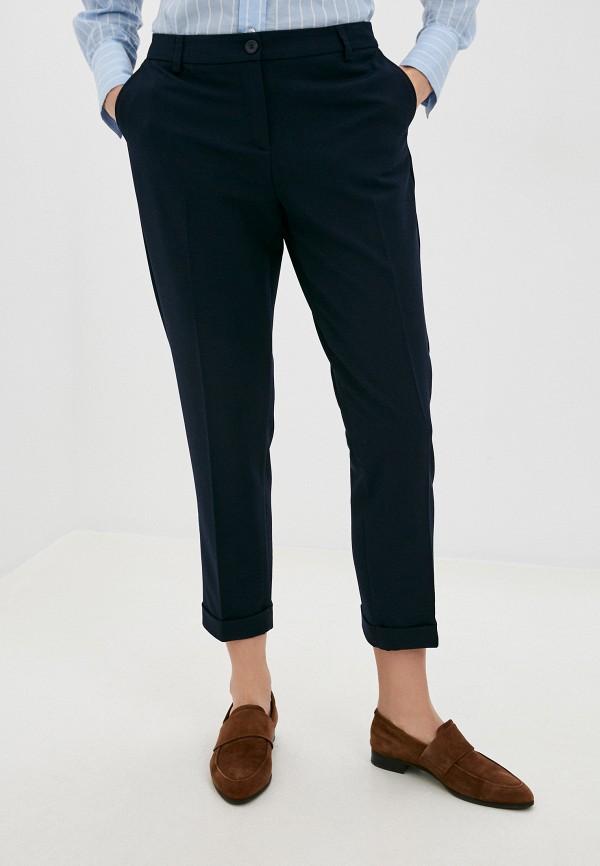 женские классические брюки united colors of benetton, синие