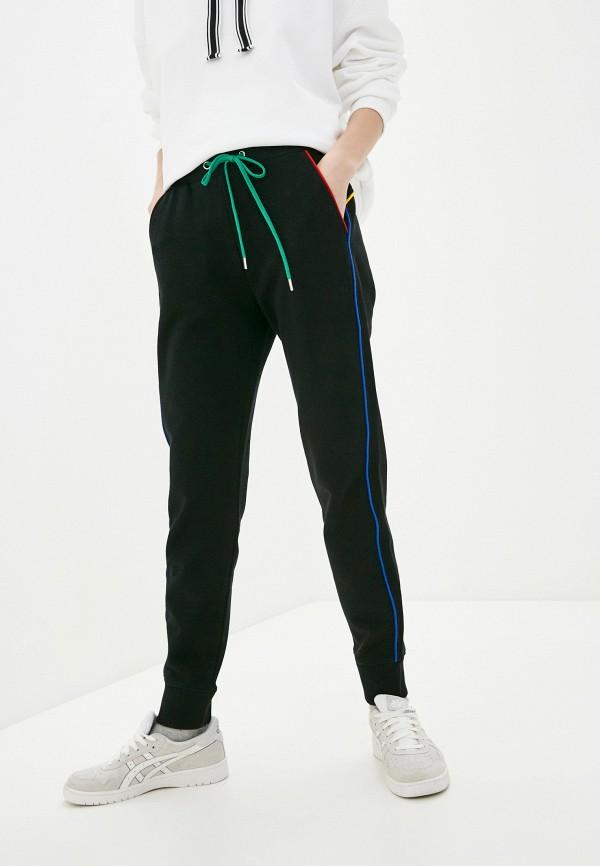 женские спортивные брюки united colors of benetton, черные