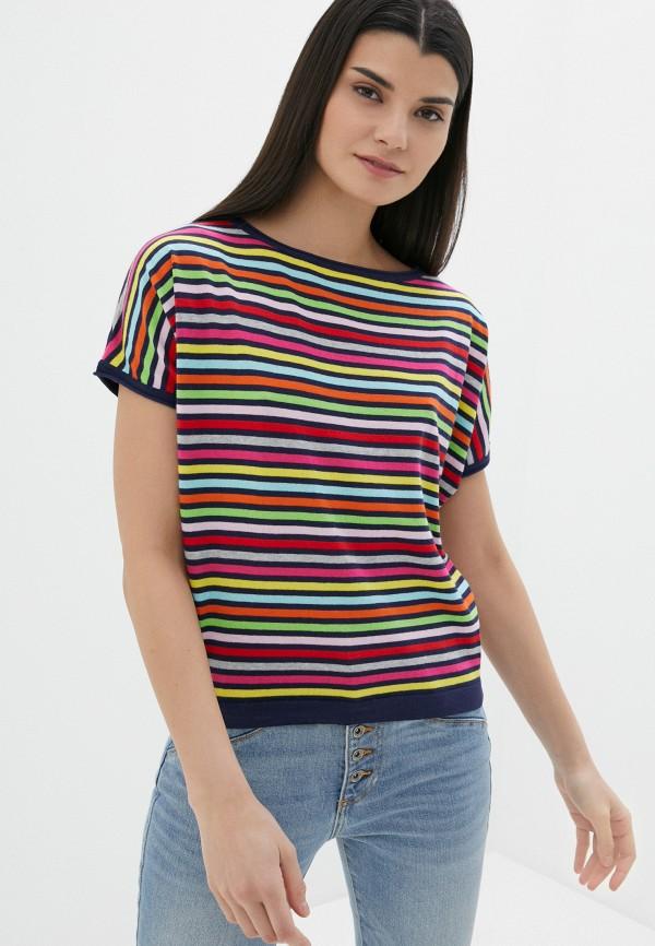 женский джемпер united colors of benetton, разноцветный