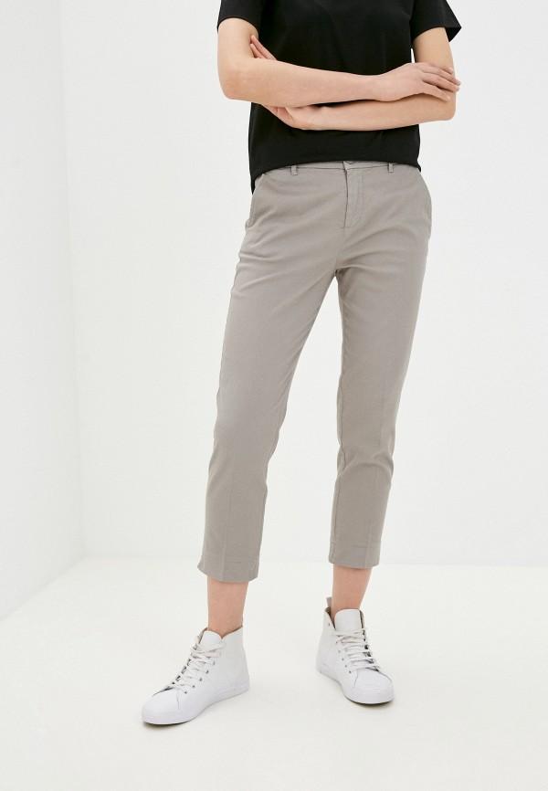 женские зауженные брюки united colors of benetton, серые