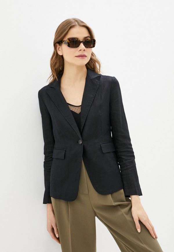 женский пиджак united colors of benetton, черный