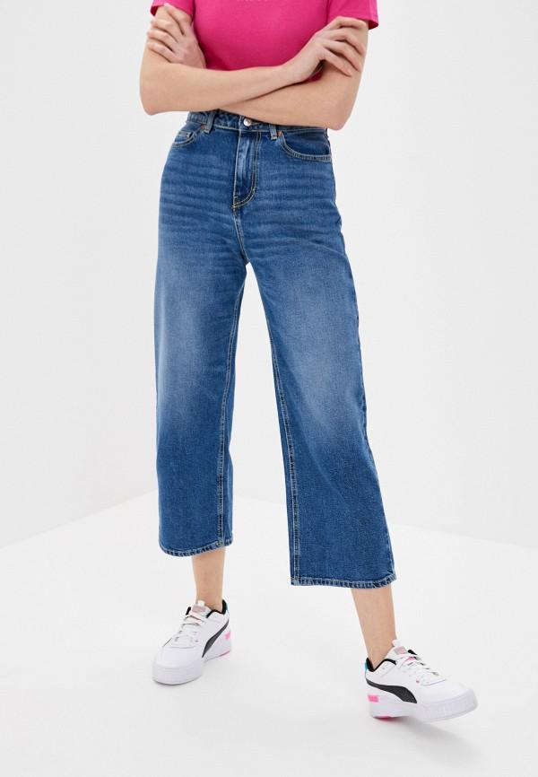 женские джинсы-мом united colors of benetton, синие