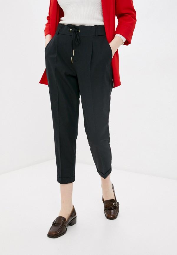 женские брюки джоггеры united colors of benetton, черные