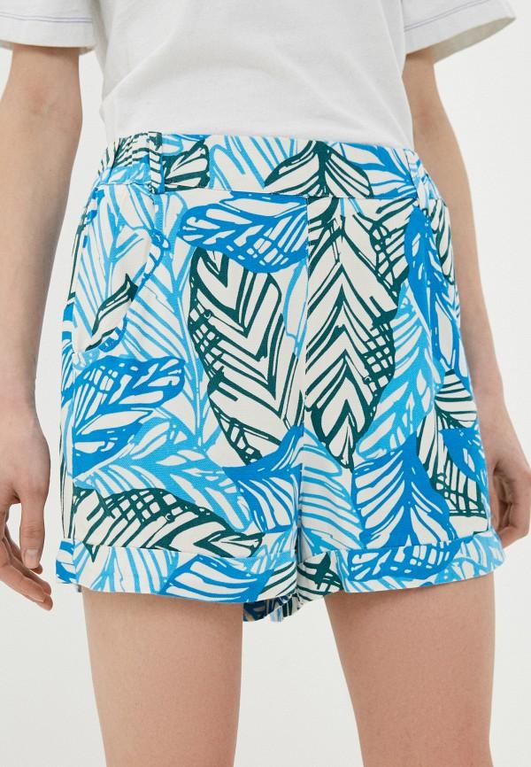 женские повседневные шорты united colors of benetton, разноцветные