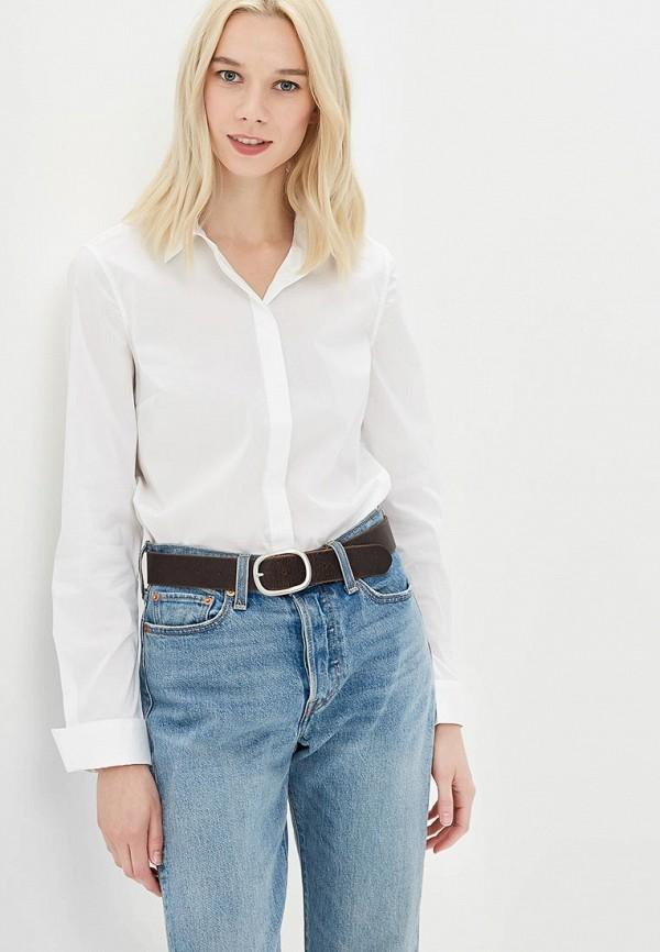 Фото - женскую рубашку United Colors of Benetton белого цвета