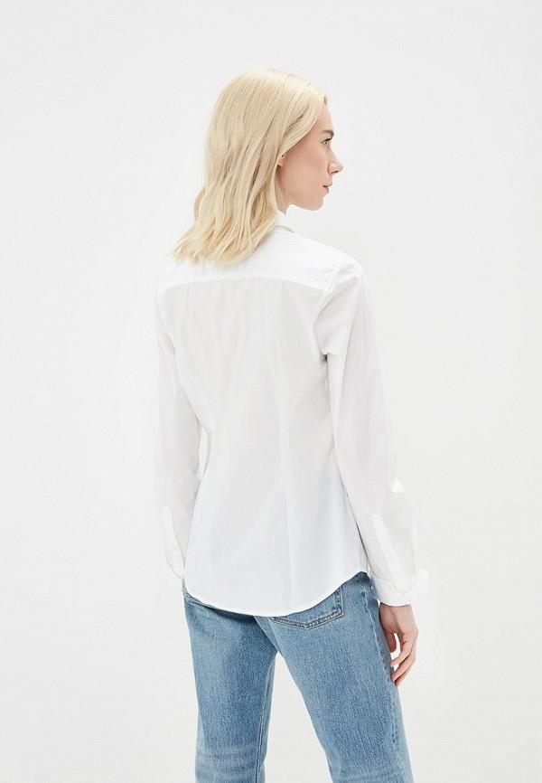 Фото 11 - женскую рубашку United Colors of Benetton белого цвета