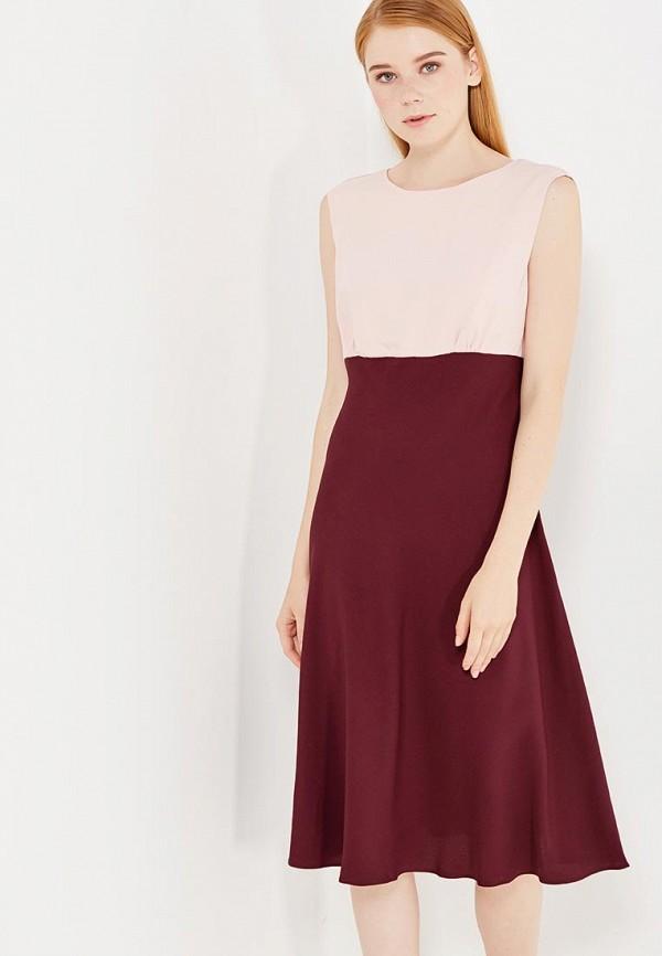 Купить Платье United Colors of Benetton, UN012EWVXN85, фиолетовый, Осень-зима 2017/2018