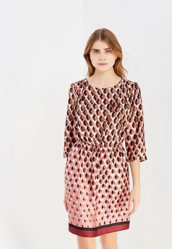 Купить Платье United Colors of Benetton, UN012EWVXN90, разноцветный, Осень-зима 2017/2018