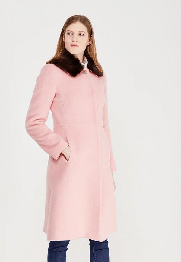 Фото - женское пальто или плащ United Colors of Benetton розового цвета