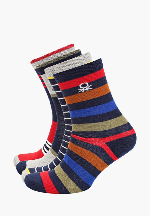 Носки для мальчика 4 пары United Colors of Benetton 6AO3T21T4