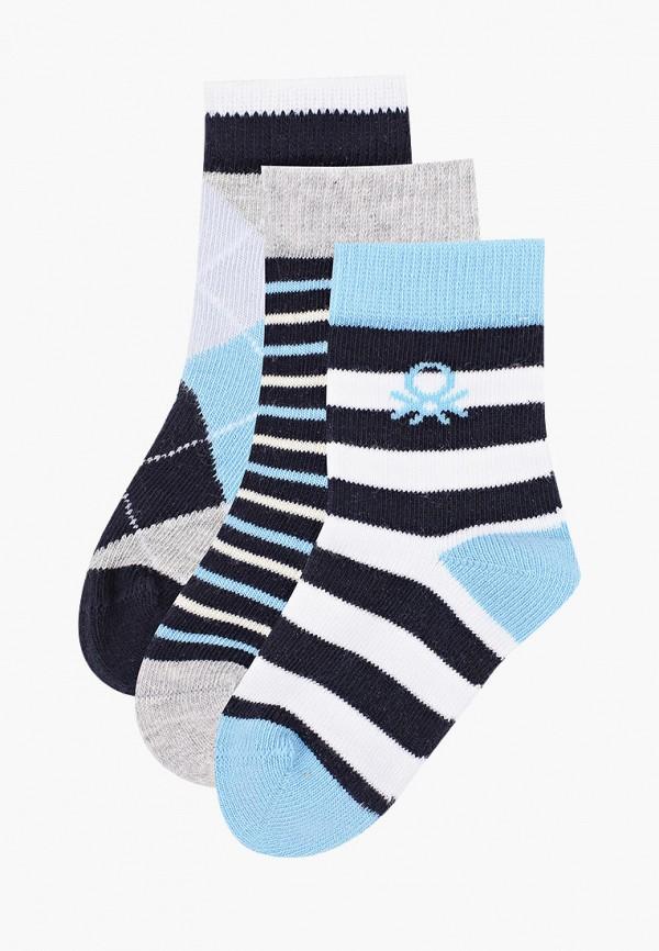 носки united colors of benetton для мальчика, синие