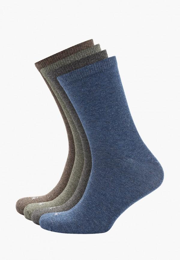 женские носки united colors of benetton, разноцветные