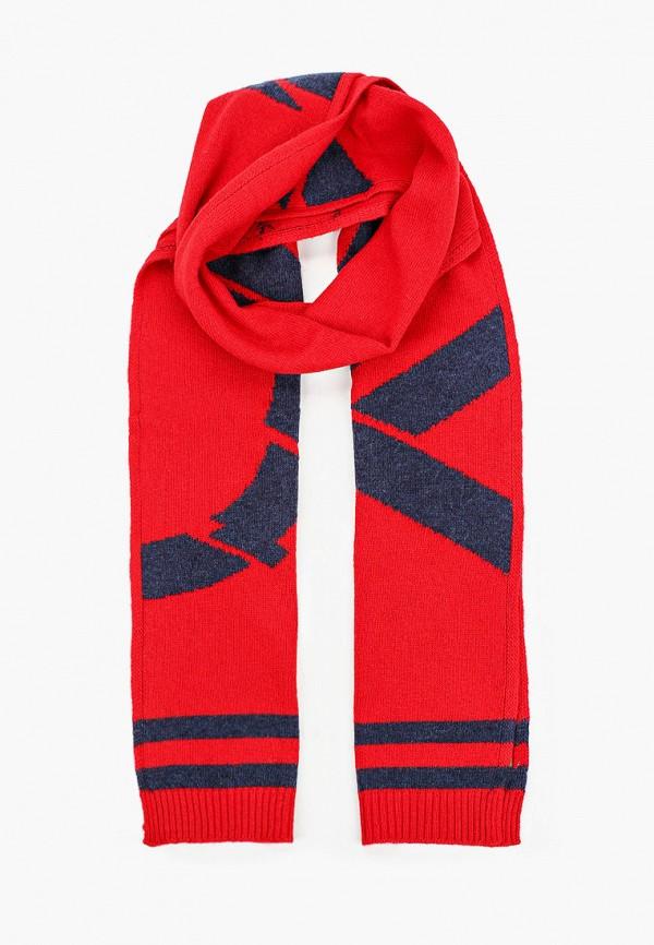шарф united colors of benetton для мальчика, красный