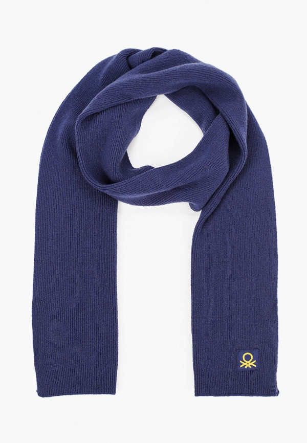 шарф united colors of benetton для мальчика, синий