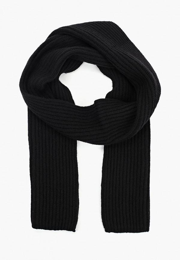 мужской шарф united colors of benetton, черный
