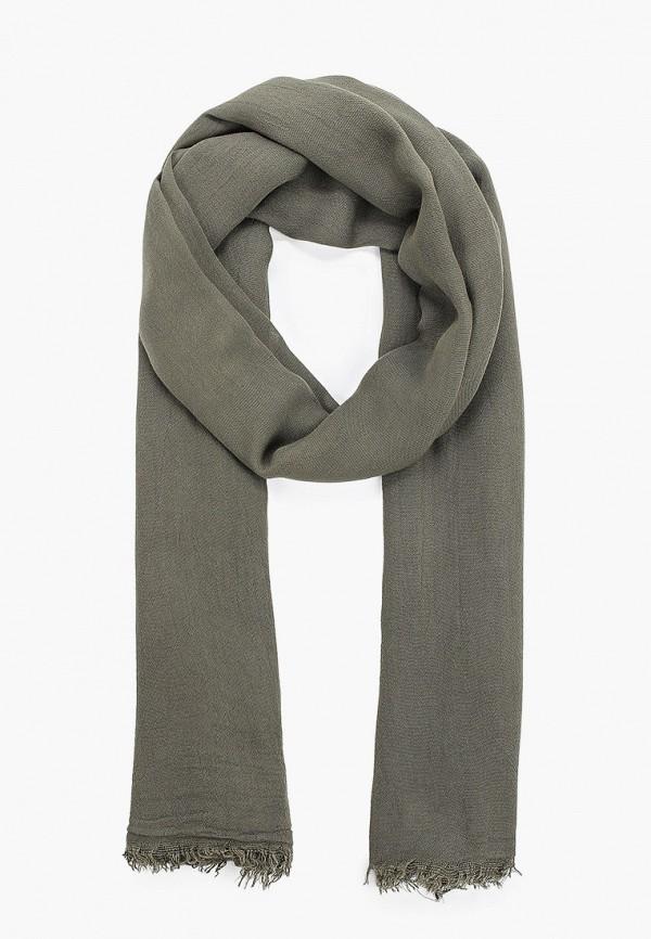 мужской шарф united colors of benetton, хаки