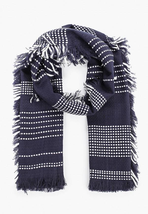 мужской шарф united colors of benetton, синий