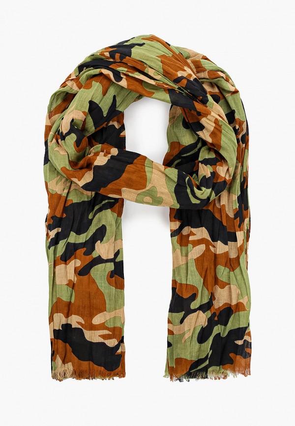 мужской шарф united colors of benetton, разноцветный