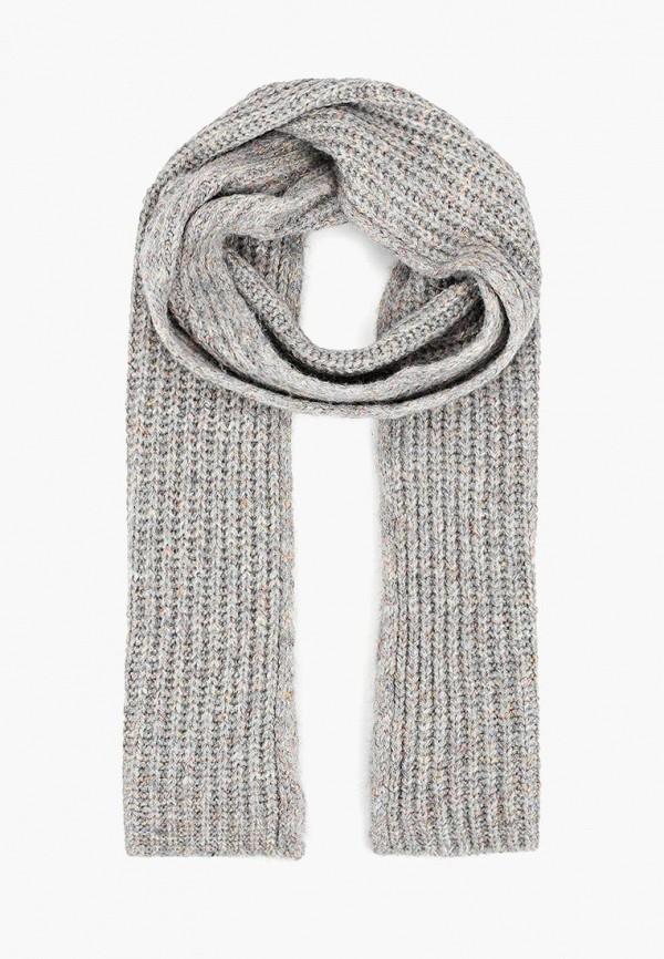 женский шарф united colors of benetton, серый
