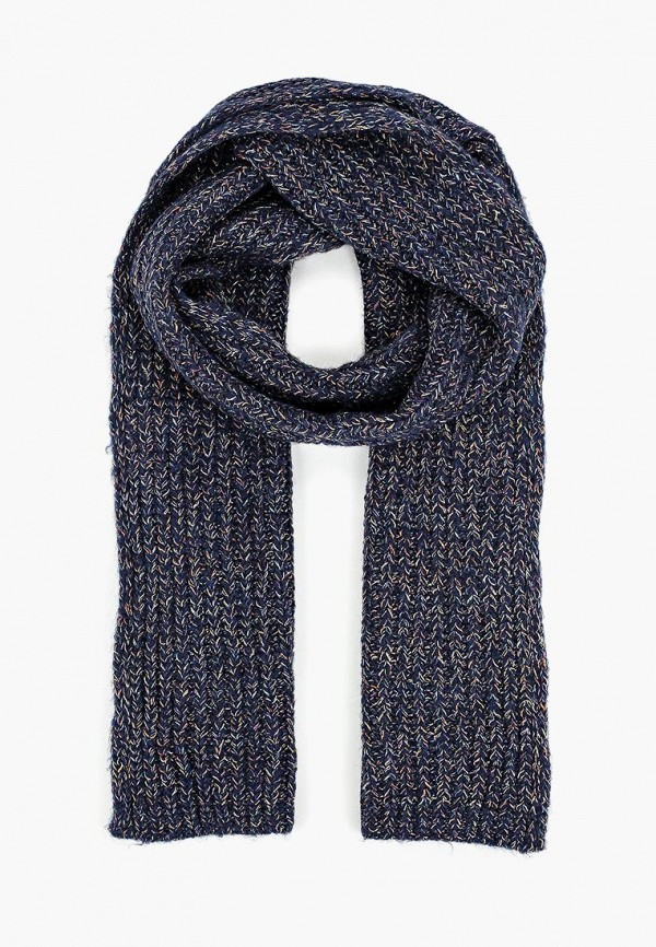 женский шарф united colors of benetton, синий