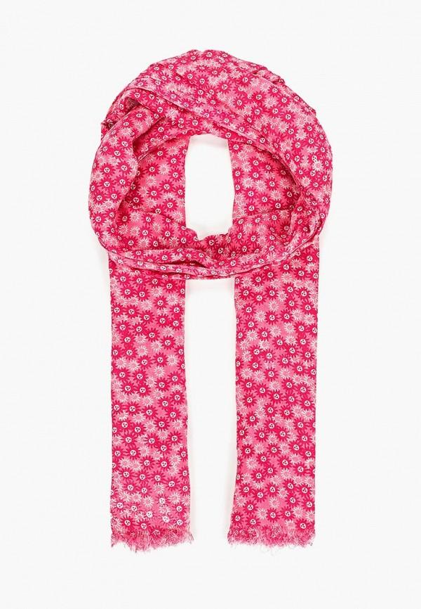 женский палантин united colors of benetton, розовый