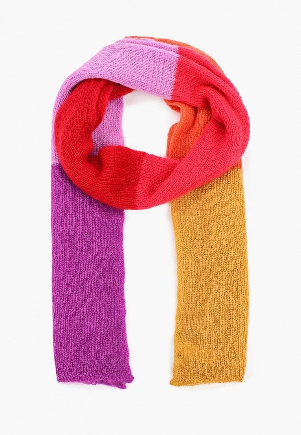 Фото - Женский шарф United Colors of Benetton разноцветного цвета