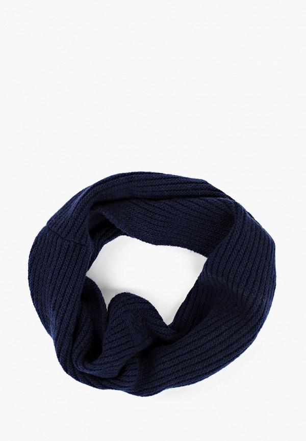 женский снуд united colors of benetton, синий