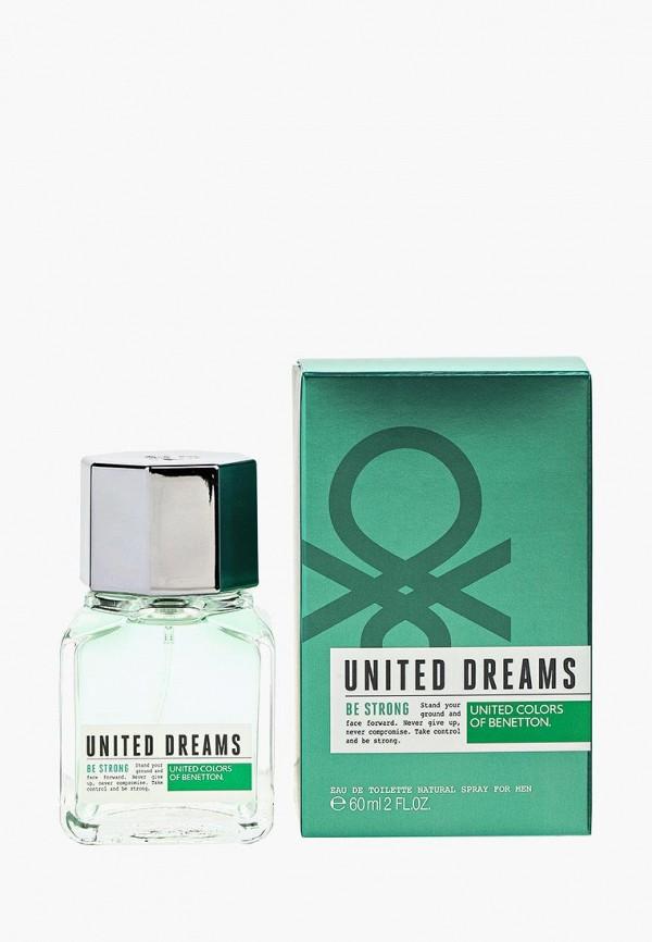 Купить Туалетная вода United Colors of Benetton, United Dreams BE STRONG 60 мл, UN012LMJBO94, Весна-лето 2018
