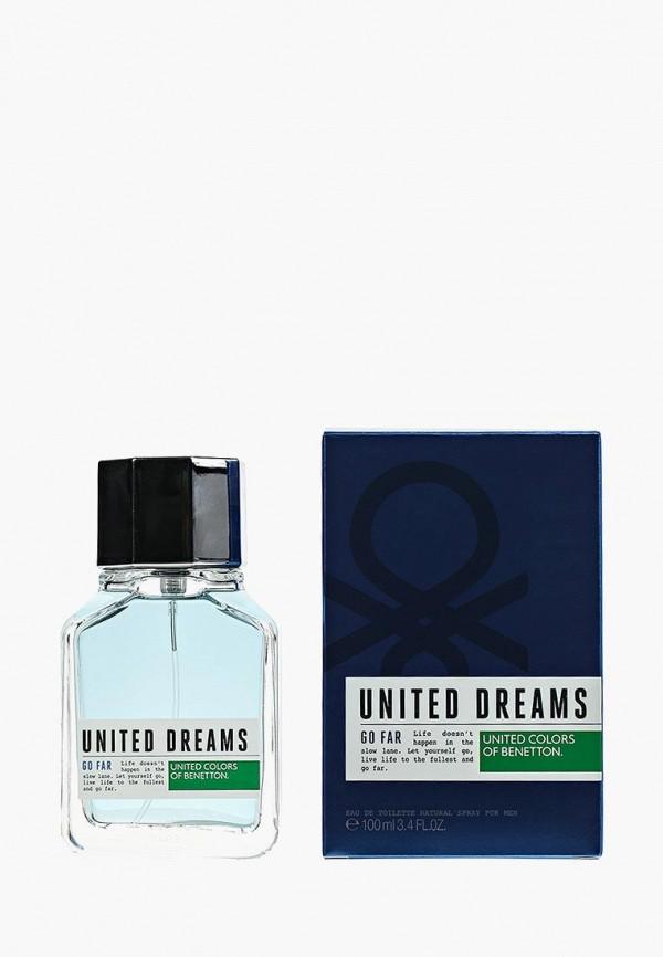 Купить Туалетная вода United Colors of Benetton, United Dreams GO FAR 100 мл, UN012LMJBO97, Весна-лето 2018