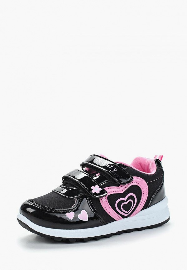 кроссовки юничел для девочки, черные