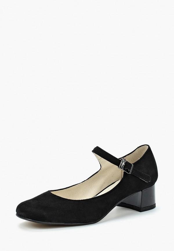 Купить Туфли Юничел, un014awbaxh2, черный, Весна-лето 2018