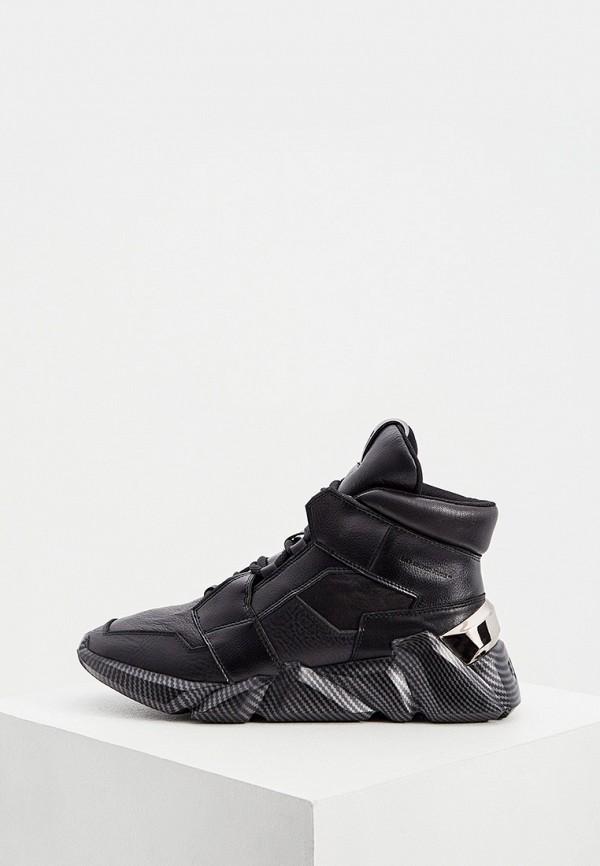 мужские кроссовки united nude, черные