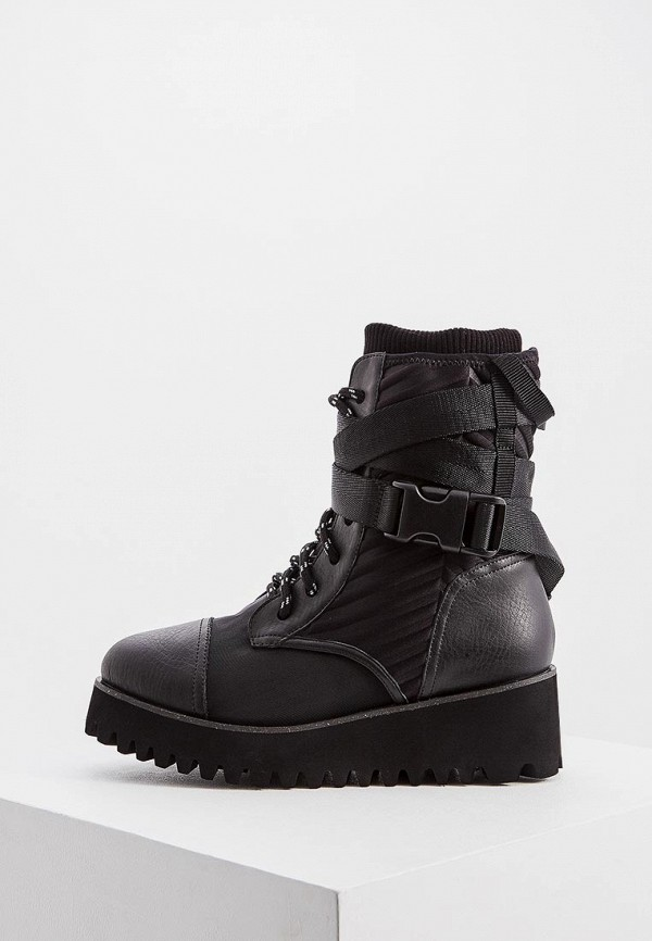 женские ботинки united nude, черные