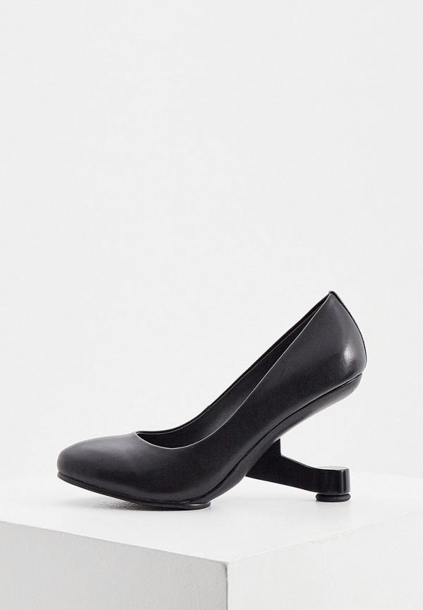 женские туфли с закрытым носом united nude, черные