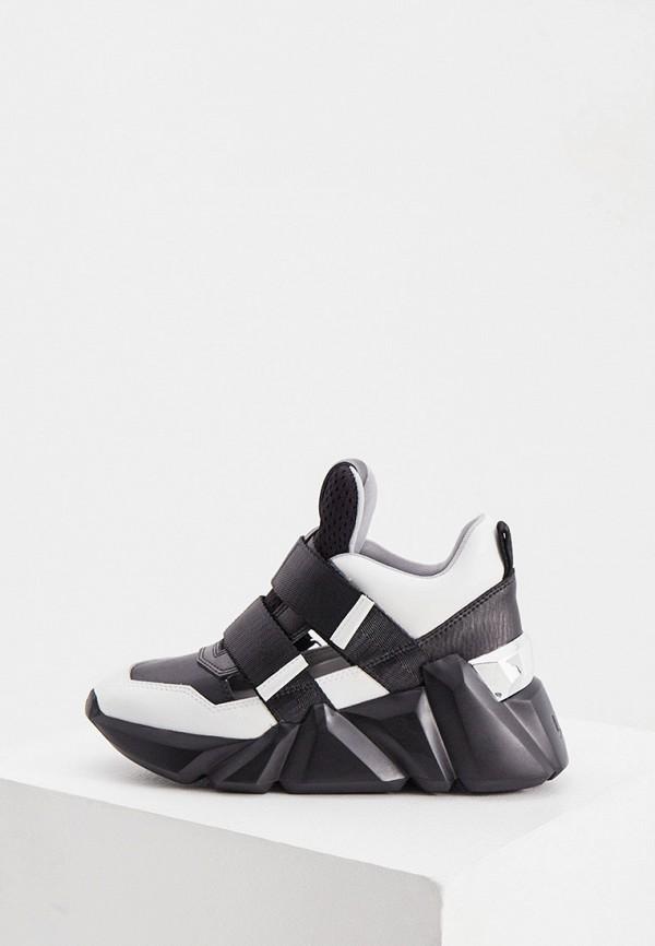 женские низкие кроссовки united nude, черные