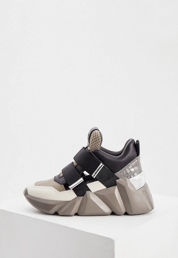женские низкие кроссовки united nude, разноцветные