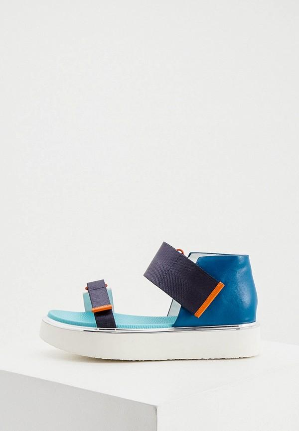 женские сандалии united nude, синие