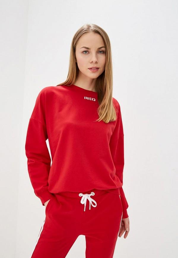 женский свитшот unq, красный