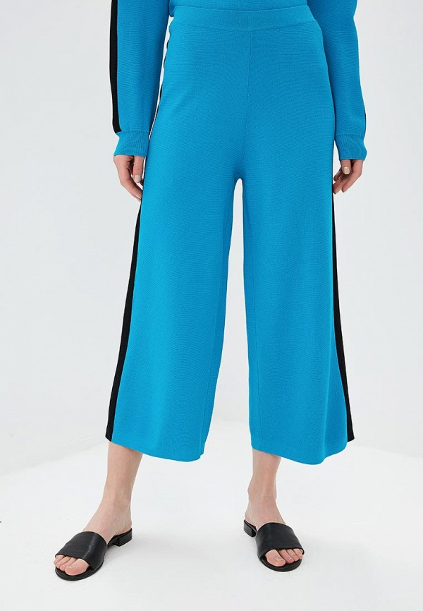 женские брюки unq, голубые