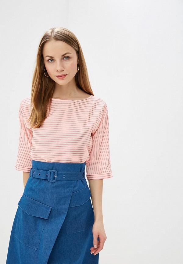 женская блузка unq, розовая