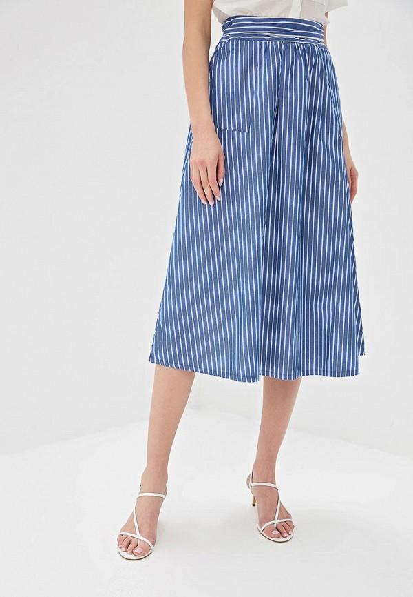 женская юбка unq, синяя