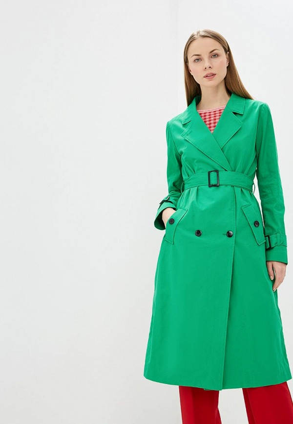 женский плащ unq, зеленый