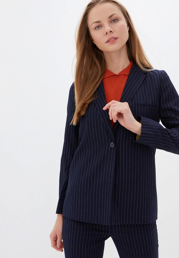 женский пиджак unq, синий