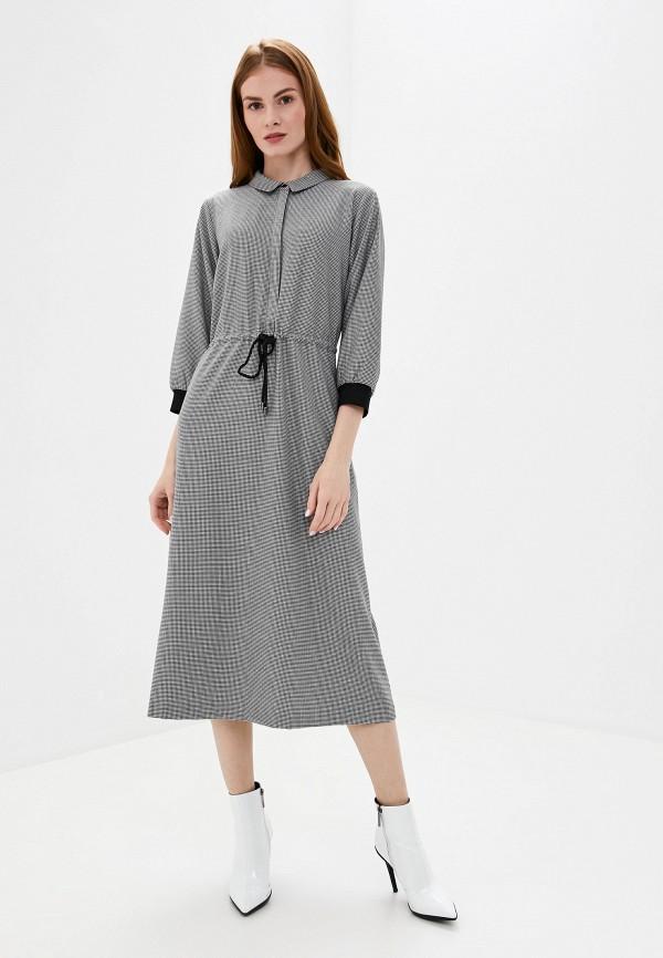 женское платье unq, серое