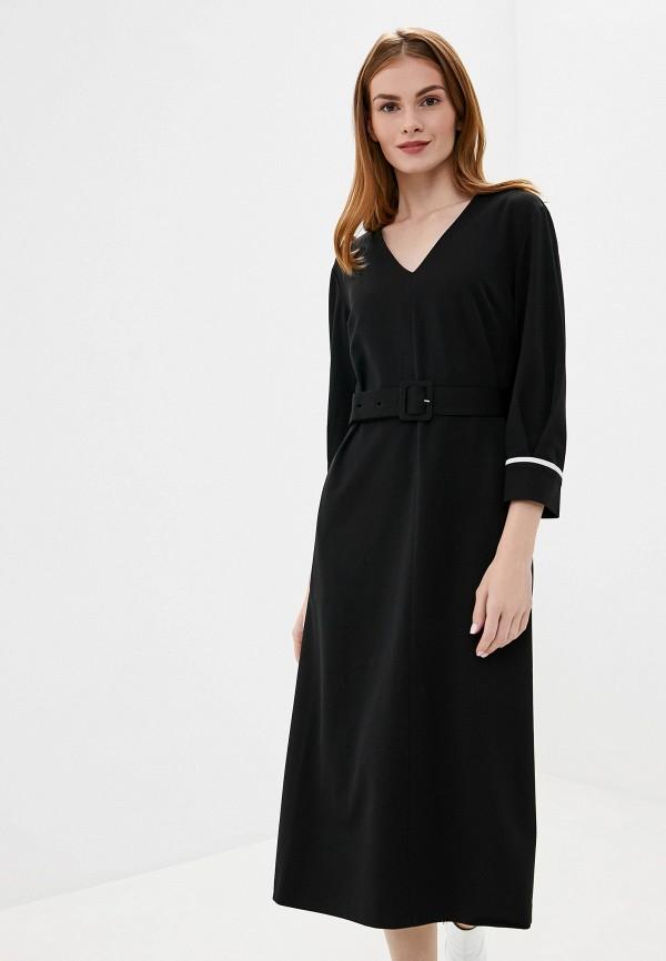 Фото 4 - женское платье UNQ черного цвета