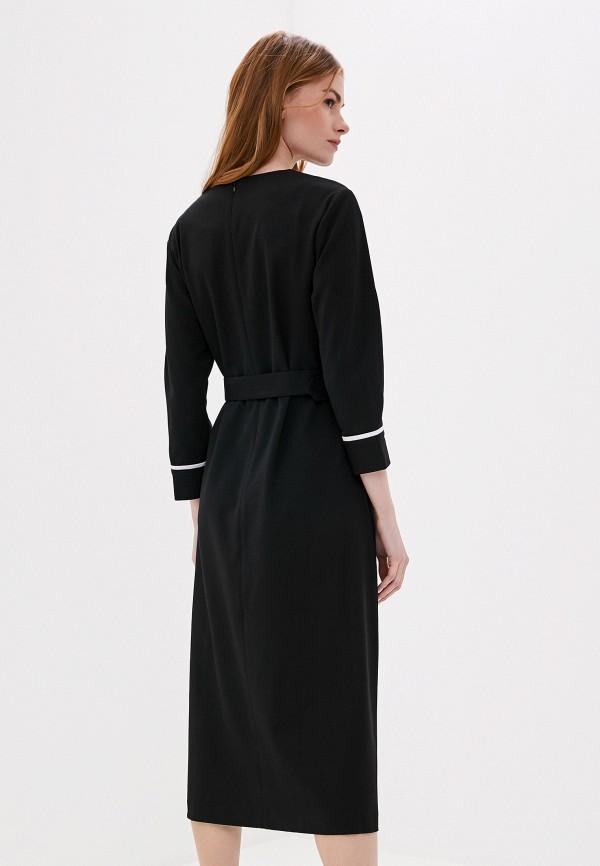 Фото 3 - женское платье UNQ черного цвета