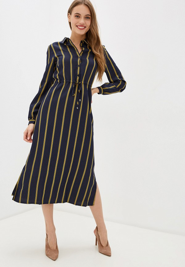 женское платье unq, синее