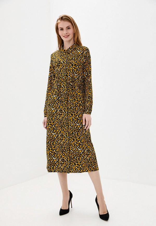 женское платье unq, желтое
